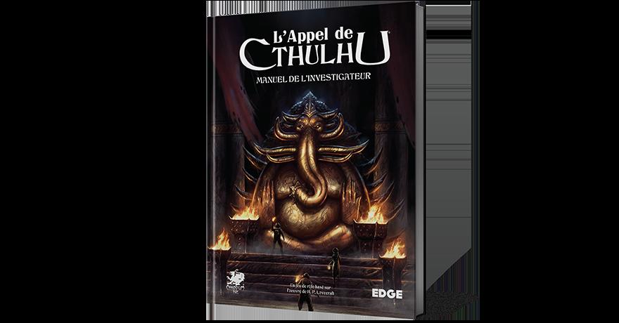 Jeu de Rôle : Manuel de l'investigateur -L'appel de Cthulhu (EdgeStudio).